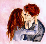 Small Breaking Dawn Kiss