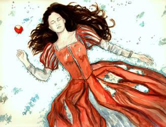 Snow White by LittleSeaSparrow