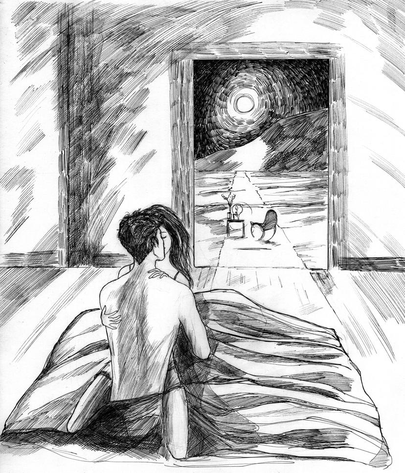 Blue Room Sketch By Littleseasparrow On Deviantart