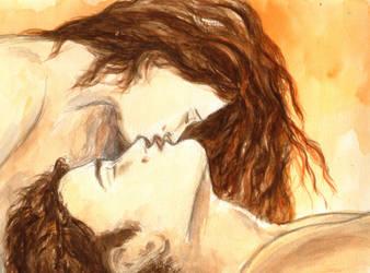 Edward and Bella - Golden Glow Love