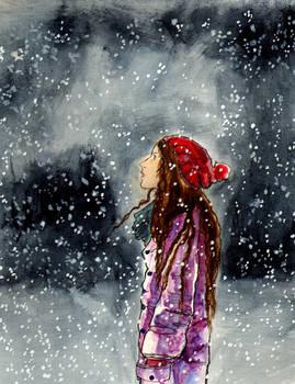 Dusk And Snow