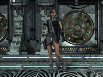 Kara - all geared up by FFworkshop