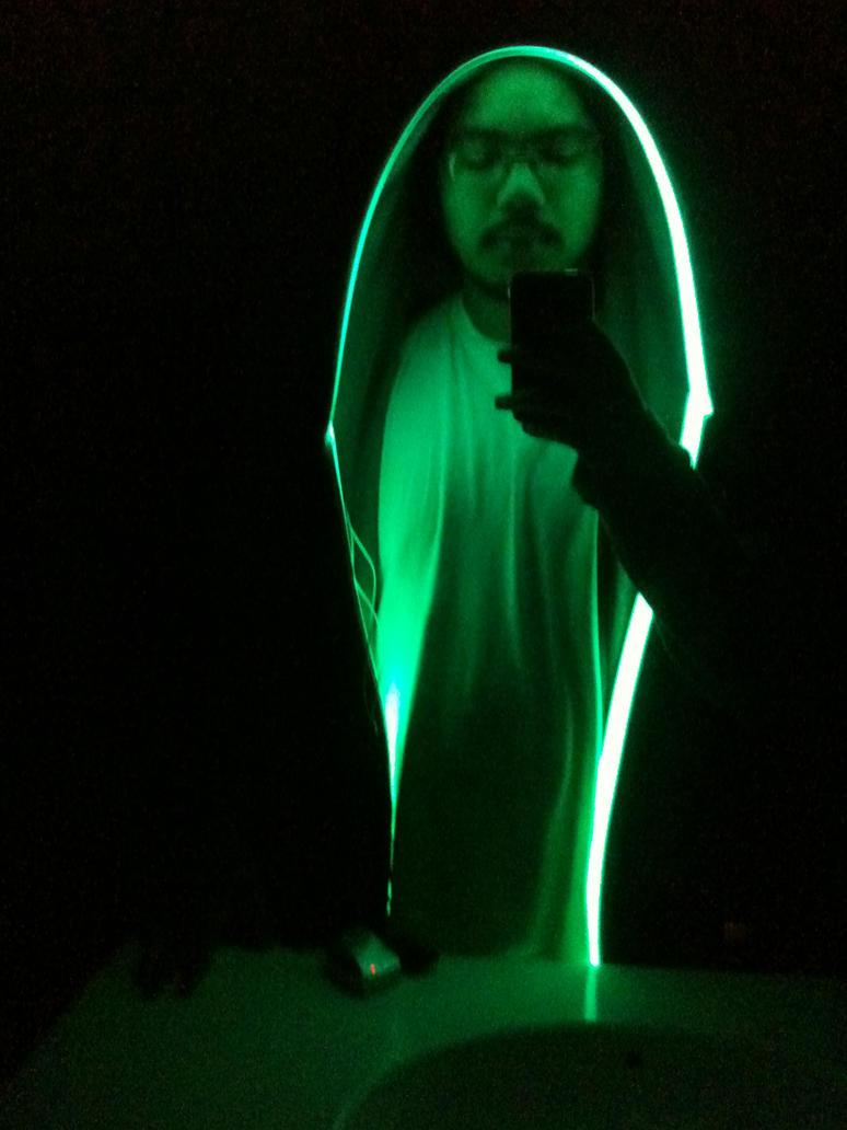 Tron light up hoodie