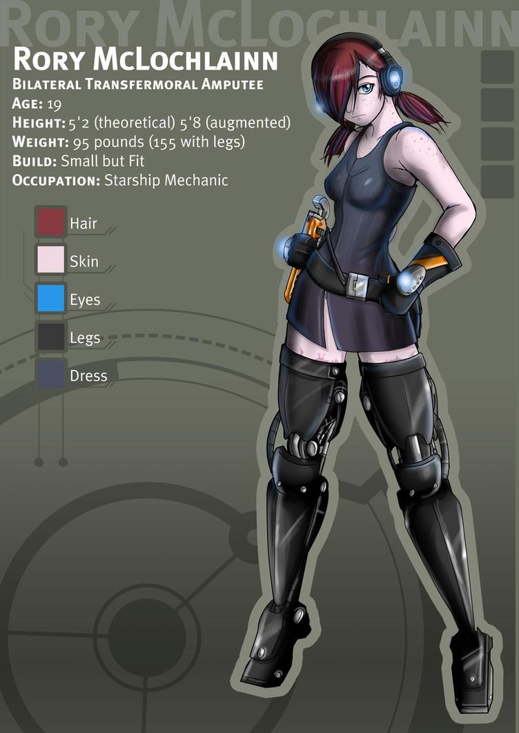 Cyber Zettai-Ryouiki: Rory by KayinNasaki