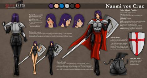 Naomi vos Cruz Character Sheet by KayinNasaki