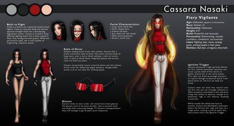 Cassara Character Sheet