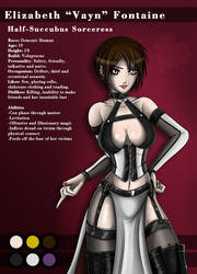 Vayn Character Sheet by KayinNasaki