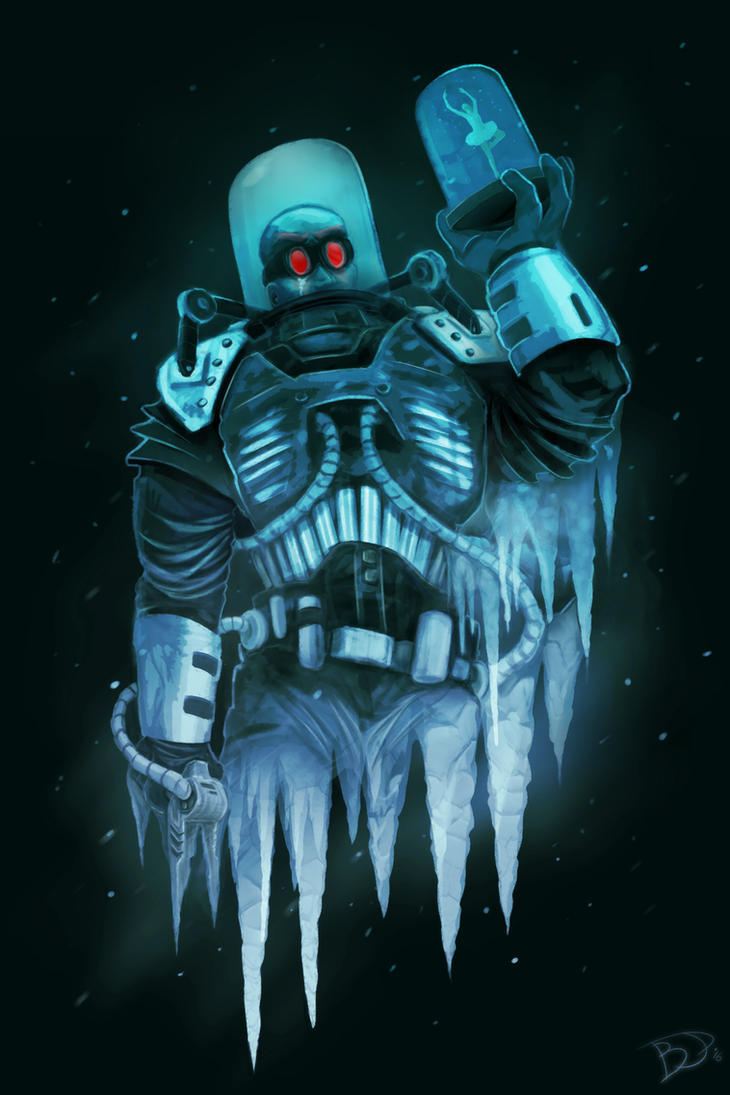 Mr Freeze Paint by expendblejoe