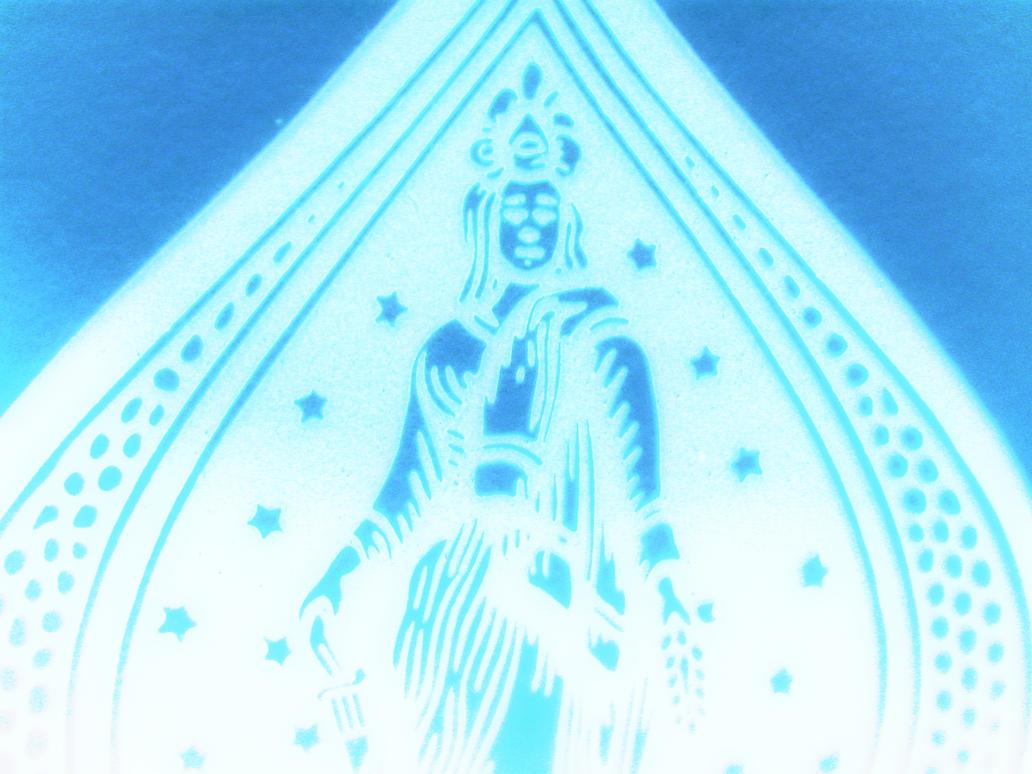 The Blue Deity by pristinePRINCE