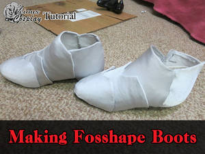 Cosplay Tutorial: Making Cosplay Boots