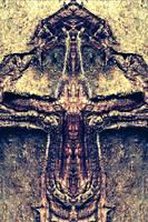 TREE CROSS by WeirdDarkness