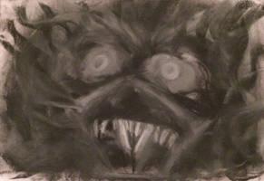 FANG FACE by WeirdDarkness