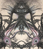 UNTITLED CHARCOAL ABSTRACT by WeirdDarkness