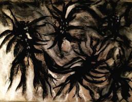 Bickering Demons by WeirdDarkness