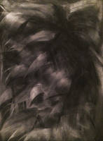 BUSHY CHARCOAL ABSTRACT by WeirdDarkness