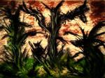 Hellish Abstract Landscape 2