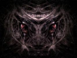 RED-EYED CREATURE by WeirdDarkness