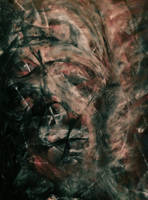 Dark Abstract Portrait by WeirdDarkness