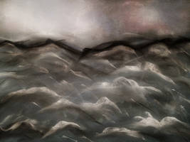 ABSTRACT SEASCAPE by WeirdDarkness