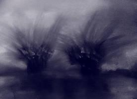 DARK ABSTRACT LANDSCAPE by WeirdDarkness