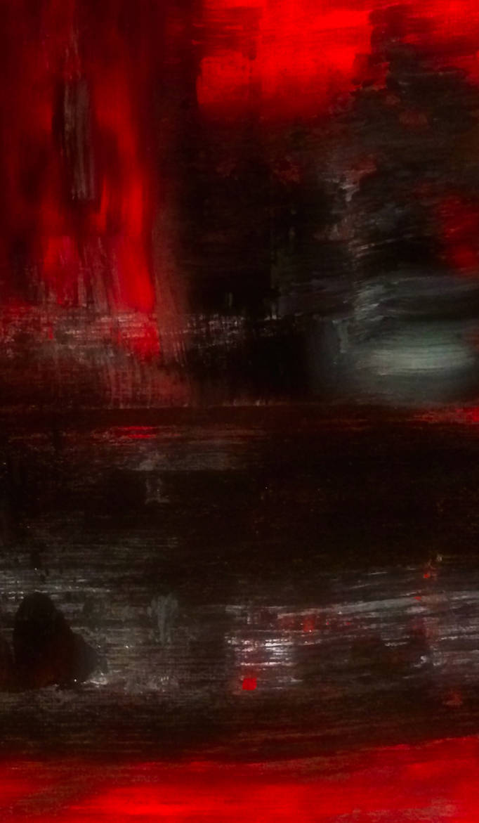 RED ABSTRACT by WeirdDarkness