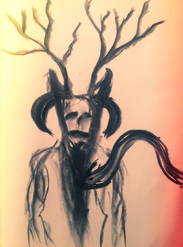 Horned God by WeirdDarkness