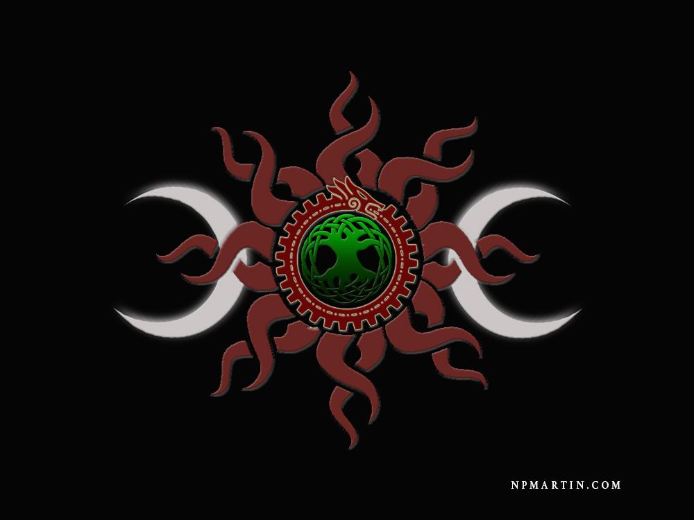 Druid Symbol Design by WeirdDarkness