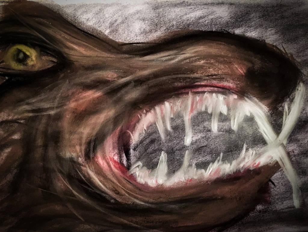 WOLF CREATURE by WeirdDarkness