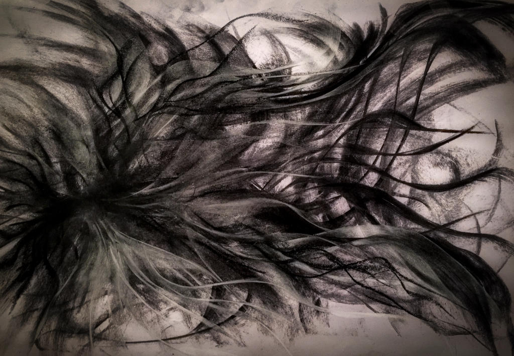 Dark Charcoal/Abstract by WeirdDarkness