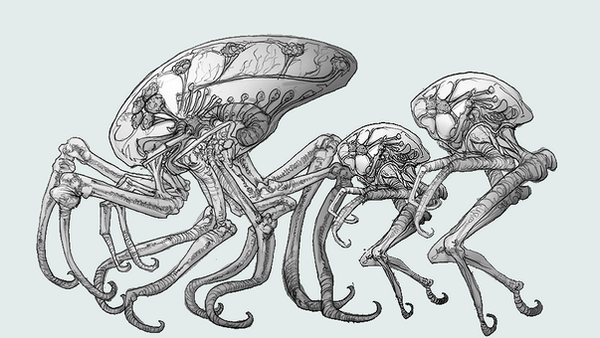Metroid Royalty Concept Sketch by ArwingXL