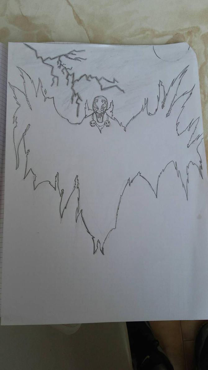 Spawn Fan Art (Not finished) by GustavoFTb