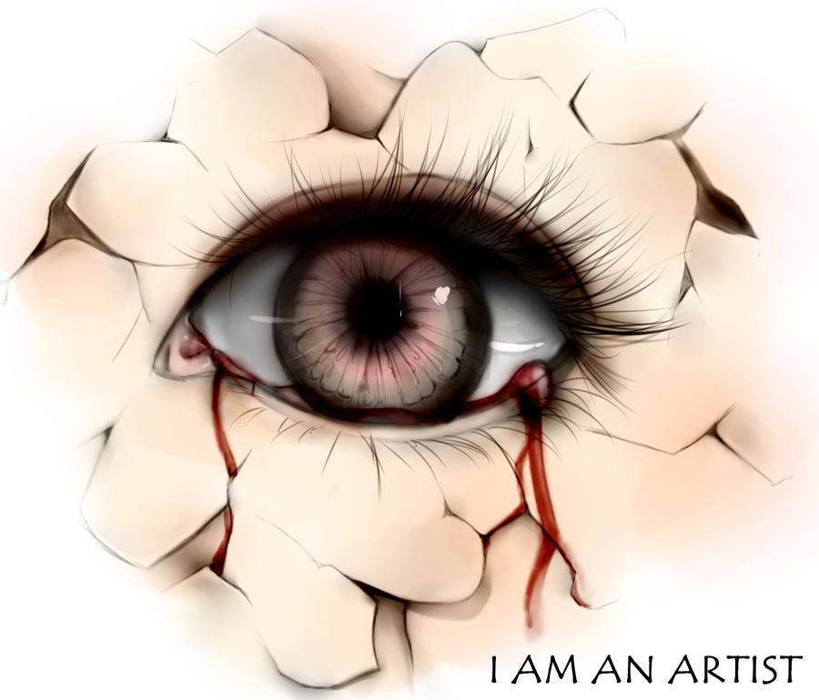 Eyetear Iam an artist by Yokuna-chan
