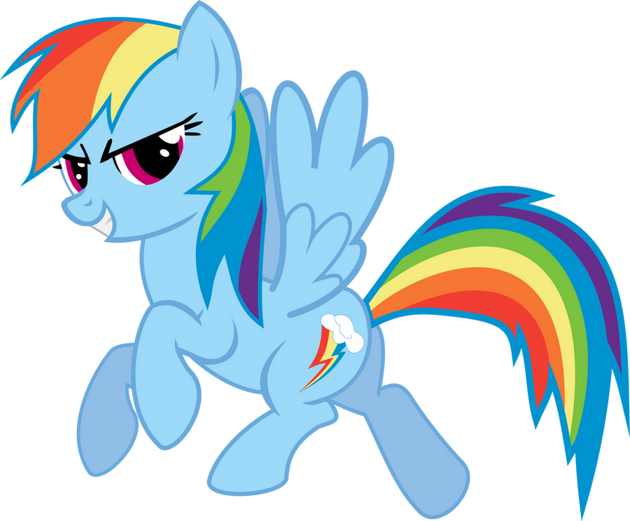 Rainbow Dash by SniperNero