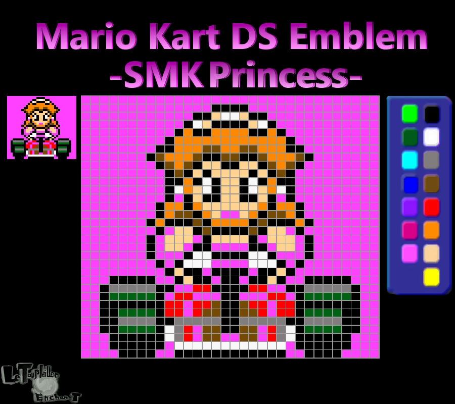 Mario Kart Ds Emblem Smk Princess Reupload By Lte T On Deviantart
