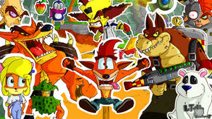 Happy 20th Birthday Crash Bandicoot!