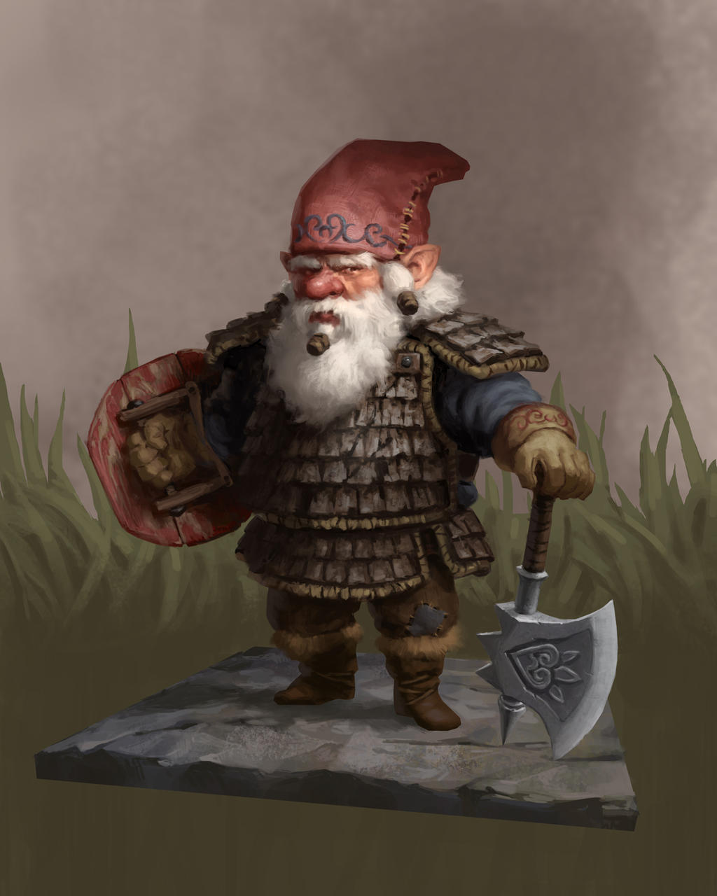 Gnome Wood Armour by LeePfenninger