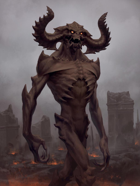 Demon King by LeePfenninger