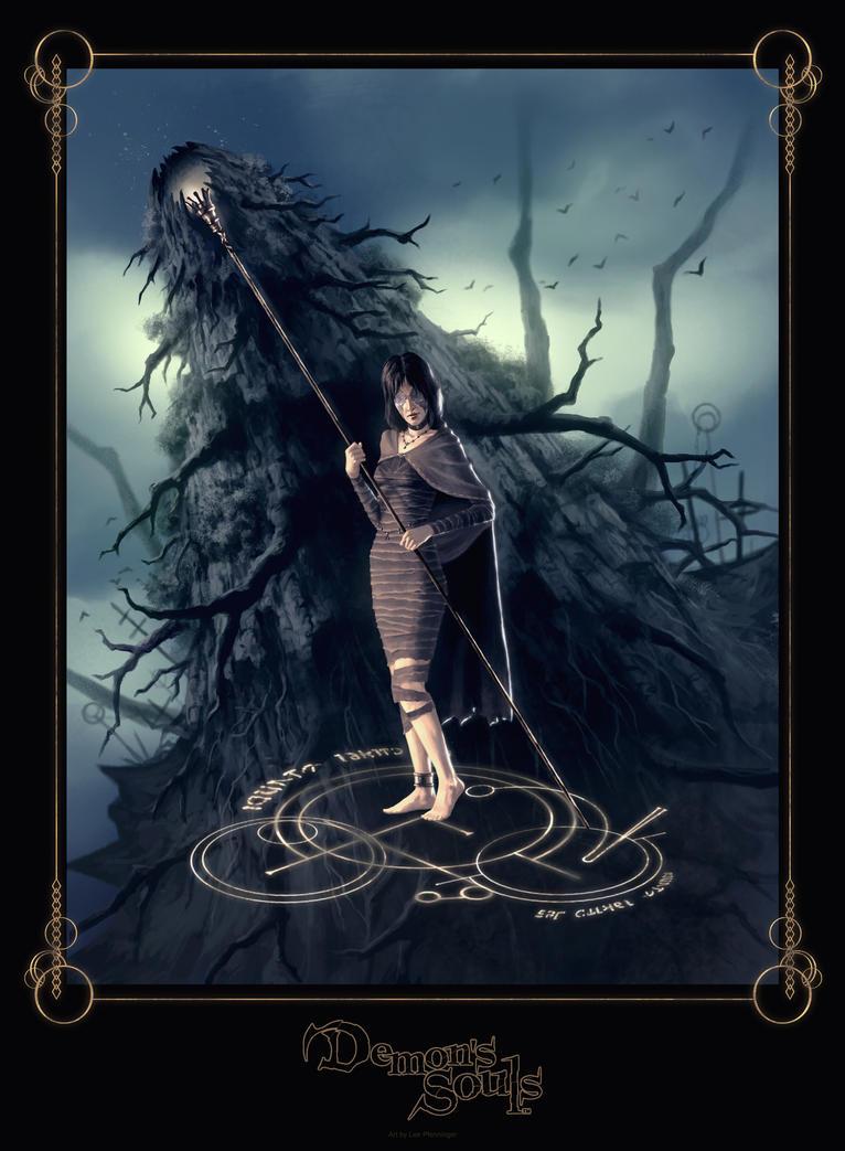 Maiden in Black by LeePfenninger