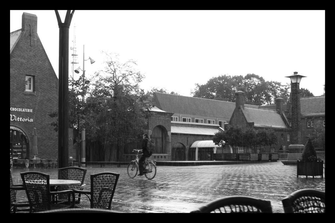 Waalwijk Rain by Mylniar