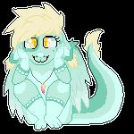 Tiny dragon by damn-days