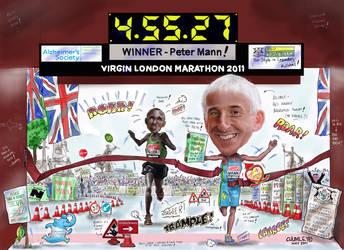 Marathon Mann by ChumleysArt