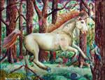 Springtime Unicorn