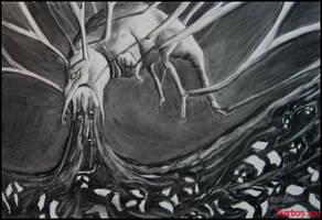 Devourer of nightmares by Skarbog