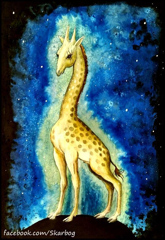 Jeroen Bosch Giraffe - skarbog by Skarbog