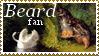 William Holbrook Beard fan stamp by xXLionqueenXx