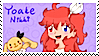 Yoake Nikki stamp (FIXED COLORS!) by Pupuomena