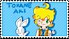 Tokane Aki stamp (FIXED COLORS!) by Pupuomena