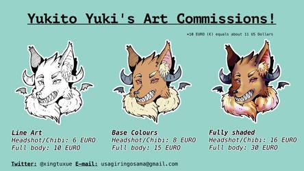 Yukito Yuki's Art Commission info [Status: OPEN!] by YukitoYuki