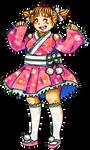 UTAU Stella Stara (gijinka) Japanese Idol ver.