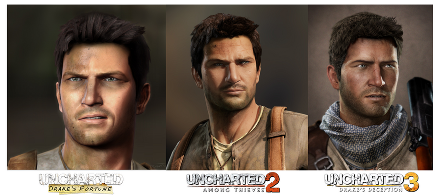 Uncharted 1 vs U2 vs U3: Nathan Drake by gtone339 on ... Uncharted 3 Drakes Deception Wallpaper